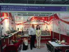 HK show with customer