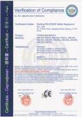K60 single gas detector CE certificate