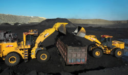 XCMG LW1200K domestic coal mine construction
