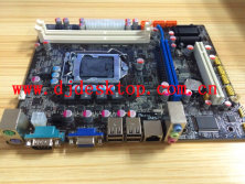 1156 socket -Hm55 motherboard with 4 SATA& 4 USB