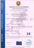 CE CERTIFICATE OF STRENGTH MACHINE