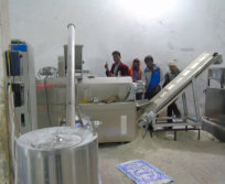 install corn flakes processing line
