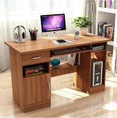 Wooden Study Table Computer Desk for Home Office Workstation