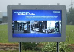 55inch Outdoor Horizontal Digital Signage LCD Kisk