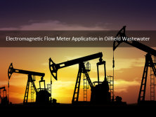 Electromagnetic Flow Meter Application in Oilfield Wastewater