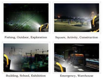Portable rechargeable LED Flood light