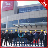 Russian clients visit Truemax Factory
