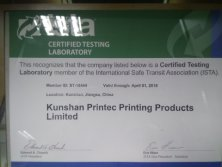 CERTIFIED TESTING LABORATORY