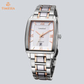 Fashion Rose Golden Case Wrist Watch Square Watch for Men72549
