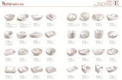 catalogue for w toilet & wash basin