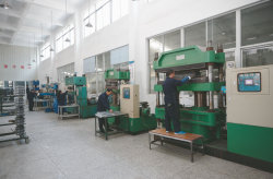 Moulding work shop for polymer sheds of insulator & surge arrester