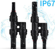 IP67 T type connector