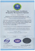 ISO9000: 2000 International Quality System