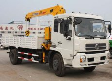 1 units of Dongfeng truck mounted crane to Philippine