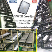 Most cost effective led canopy in the market