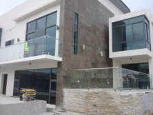 Nigeria House Glass Railing Project