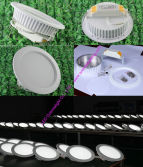 Top quality led downlight with elegant design are hot selling