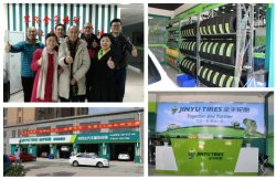 TAIWAN CUSTOMERS CAME TO VISIT OUR TIRE FLAGSHIP SHOPS FOR DOMESTIC MARKETS