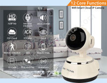 New Arrival in Sep! HD Wifi Smart Cloud IP Camera