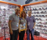 The client from South America come to visit us in Canton Fair