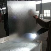 Inspection Before Delivering with Acid Etched Glass