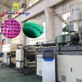 Plastic grass making machine
