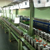 installing parts of hydraulic motor