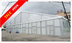 30x10M Glass Combination Tent