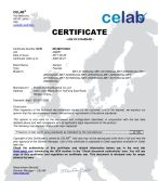 CE certificate for Faucets