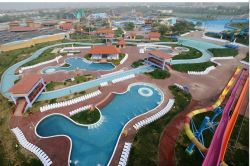 The Biggest Water Park of Asia in Beijing