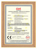 CE Certificate of Glass Washing Machine