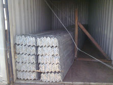 galvanized angle iron exporrting