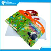 Special shape child book printing
