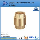 LB-GutenTop lead free Non Return Vertical forged Brass Spring Check Valve Size 1/2