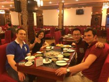 Happy time to try Chinese food