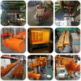 Electric Chain Hoist with Clutch Production Line-3