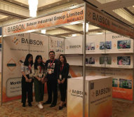 Babson toner on ReChina Expo Egypt Exhibition held at Egypt from April 23-24,2017