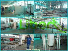 Steel Parts Welding Workshop