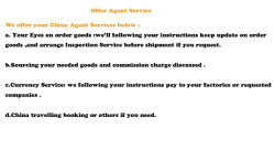 Your Business Agent Service