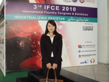 Sunlord to be invited to participate the 3rd International Foundry Congress & Exhibition(IFCE) Pakis