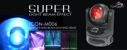 Super Unlimited Rotation Moving Head Beam Light (ICON-M006)