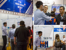 Our brand ′Hegerls′ at the 30th MOVIMAT exhibition in Brazil