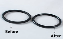 rubber ring parts deflashing