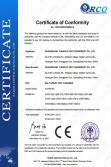 CE Certificate of Salt Spray Test Chamber