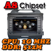 WITSON A8 Chipset Dual Chipset Special Car DVD Player GPS For KIA SPORTAGE 2010-2013