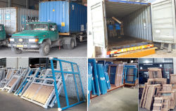 Aluminium Windows Packing & Loading
