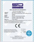 CE certificate of led tube
