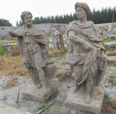 antique stone Roman sculpture