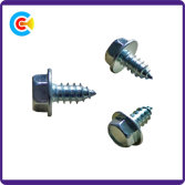 Hexagonal flange self tapping screw