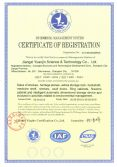 Certificate ISO14001-2004